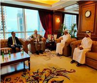 سعفان يبحث مع وزير عمل قطر تذليل العقبات أمام العمالة المصرية