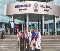 جامعة بنها تنظم قافلة طبية فى مدينة العبور