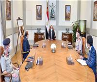 الرئيس يتابع بعض المشروعات الإنشائية بالعاصمة الإدارية الجديدة