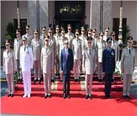 السيسي يهنيء شعب مصر بذكرى انتصارات أكتوبر ويجتمع بالمجلس الأعلى للقوات المسلحة