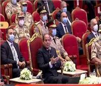 السيسي: التحية والتقدير للشعوب العربية وكل من ساند مصر بالمال و السلاح و الرجال