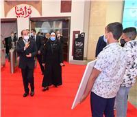 الرئيس السيسي يفتتح معرض تراثنا للحرف اليدوية والمنتجات التراثية