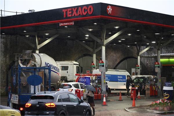 أزمة الوقود فى بريطانيا