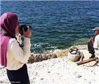 اسراء أول مصورة كفيفة في مصر
