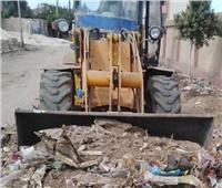 رفع 120 طن من المخلفات والقمامة بمحيط المدارس إستعداداً لبدء الدراسة