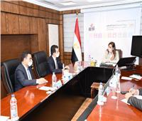 """وزيرة التخطيط تبحث مع المدير العام لمنظمة """"الايسيسكو""""مستقبل ريادة الأعمال"""