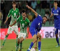 الدوري الإسباني| خيتافي يزداد معاناة بعد الهزيمة أمام ريال بيتيس