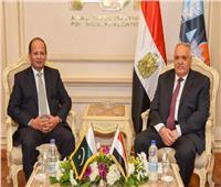 مباحثات مصرية باكستانية لتعزيز التعاون في كافة مجالات الصناعة