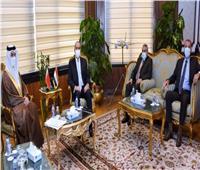 وزير الطيران المدنى يلتقى سفير مملكة البحرين لاستعراض الموضوعات ذات الاهتمام المشترك.