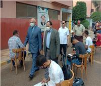رئيس جامعة بنها يتابع إجراءات تسكين طلاب المدن الجامعية