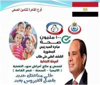انطلاق «١٠٠ مليون صحة» للأنيميا والتقزم بمدارس القاهرة