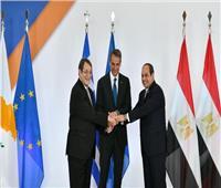 الرئيس القبرصي: تعاون مشترك مع مصر واليونان في مواجهة الإرهاب وإحلال السلام