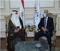وزير النقل يستقبل نظيره السعودي لبحث تدعيم التعاون بين الجانبين