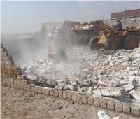 محافظ بني سويف: إزالة أكثر من 400 حالة تعد على أراضى أملاك دولة