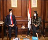 وزيرة التعاون الدولي تبحث تطوير العلاقات المشتركة مع السفير القطري بالقاهرة