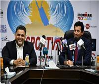 صبحي : طموحنا لا ينتهي لاستضافة كبري الأحداث الرياضية العالمية علي ارض مصر