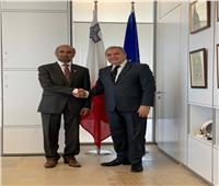 """رئيس مالطا يستقبل """"الجروان"""" ويؤكد دعم بلاده للمجلس العالمي للتسامح والسلام"""
