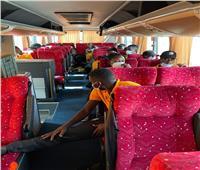 الكونفدرالية| بعثة بطل أوغندا تصل إلى القاهرة استعدادا لمواجهة المصري
