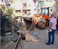 إزالة ٣٣ كشك مخالف وتحرير ١٧ محضرا متنوعا ورفع ٧٨٩ حالة إشغال مخالفة بالبحيرة