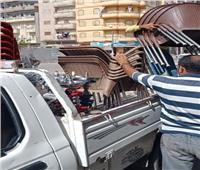 إزالة ٩٢٣ إشغال طرق وغلق ٤ مراكز للدروس ومصادرة ١٣٧ شيشة.. بالبحيرة