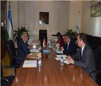 مستشار رئيس أوزبكستان يستقبل رئيس جمعية الصداقة المصرية الأوزبكية