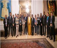 الرئيس الكولومبي يستقبل الجروان وأعضاء البرلمان الدولي للتسامح والسلام